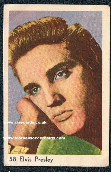 1956 Maple Leaf Gum card Elvis Presley 58